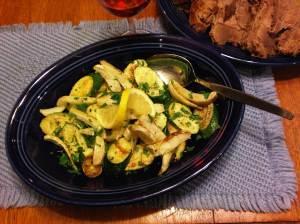 Sauteed Zucchini and Fennel