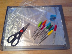 """shrinky dink"" supplies"