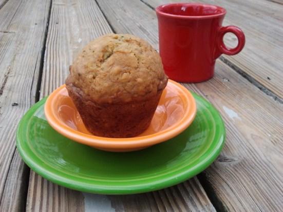 Zucchini Ginger Muffin